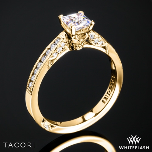 Tacori 3003 Simply Tacori Crescent Complete Diamond Engagement Ring for Princess