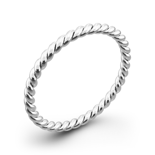 Danhov ZB100 Eleganza Braided Wedding Ring