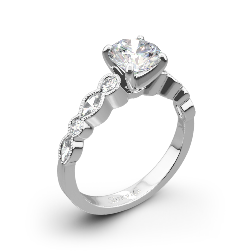 Simon G. MR2399 Passion Diamond Engagement Ring
