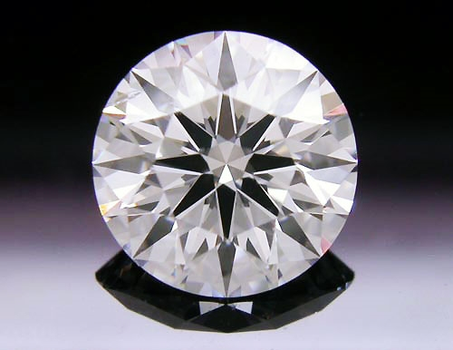 1.107 ct D SI1 A CUT ABOVE® Hearts and Arrows Super Ideal Round Cut Loose Diamond