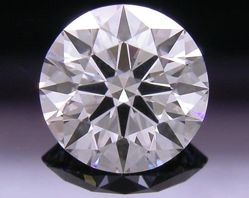 0.585 ct D VVS1 A CUT ABOVE® Hearts and Arrows Super Ideal Round Cut Loose Diamond