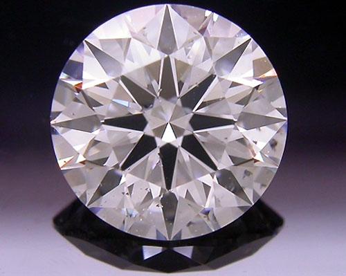 1.034 ct E SI2 A CUT ABOVE® Hearts and Arrows Super Ideal Round Cut Loose Diamond