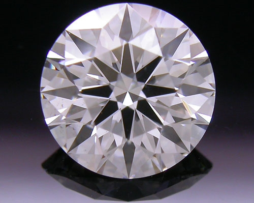 1.003 ct F SI1 A CUT ABOVE® Hearts and Arrows Super Ideal Round Cut Loose Diamond