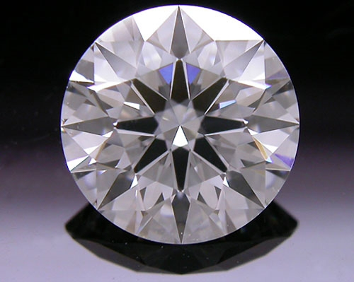 1.066 ct F SI1 A CUT ABOVE® Hearts and Arrows Super Ideal Round Cut Loose Diamond