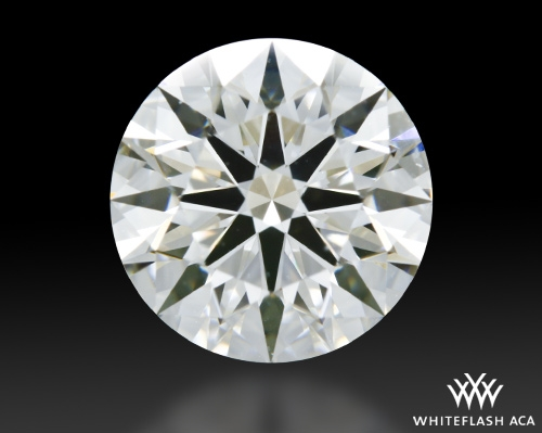 1.60 ct J SI1 A CUT ABOVE® Hearts and Arrows Super Ideal Round Cut Loose Diamond