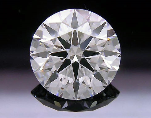 1.228 ct E SI1 A CUT ABOVE® Hearts and Arrows Super Ideal Round Cut Loose Diamond