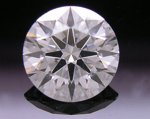 0.713 ct F SI1 A CUT ABOVE® Hearts and Arrows Super Ideal Round Cut Loose Diamond