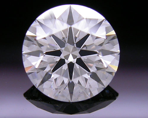1.176 ct F SI1 A CUT ABOVE® Hearts and Arrows Super Ideal Round Cut Loose Diamond