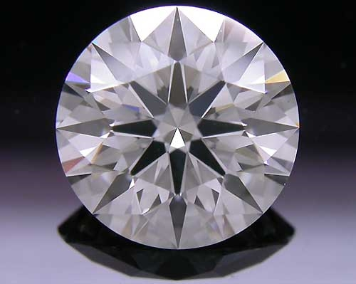 1.218 ct H SI1 A CUT ABOVE® Hearts and Arrows Super Ideal Round Cut Loose Diamond