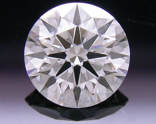 0.741 ct F VS2 A CUT ABOVE® Hearts and Arrows Super Ideal Round Cut Loose Diamond