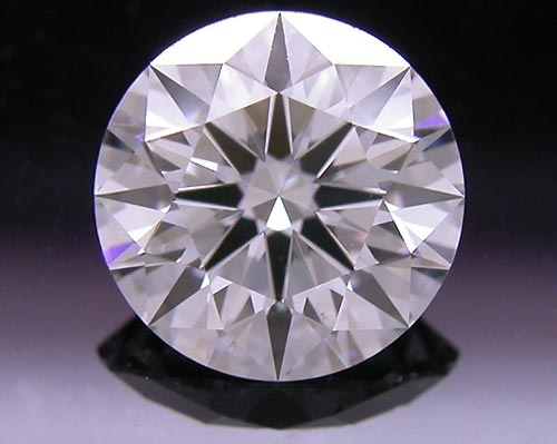 0.738 ct D VS2 A CUT ABOVE® Hearts and Arrows Super Ideal Round Cut Loose Diamond