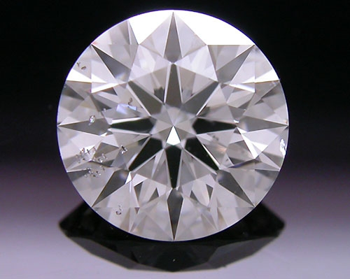 1.121 ct F SI2 A CUT ABOVE® Hearts and Arrows Super Ideal Round Cut Loose Diamond