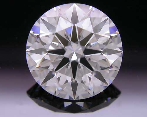 1.258 ct D SI1 A CUT ABOVE® Hearts and Arrows Super Ideal Round Cut Loose Diamond