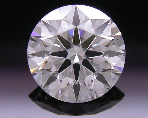 0.77 ct F SI1 A CUT ABOVE® Hearts and Arrows Super Ideal Round Cut Loose Diamond