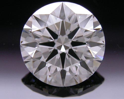 0.767 ct G SI1 A CUT ABOVE® Hearts and Arrows Super Ideal Round Cut Loose Diamond