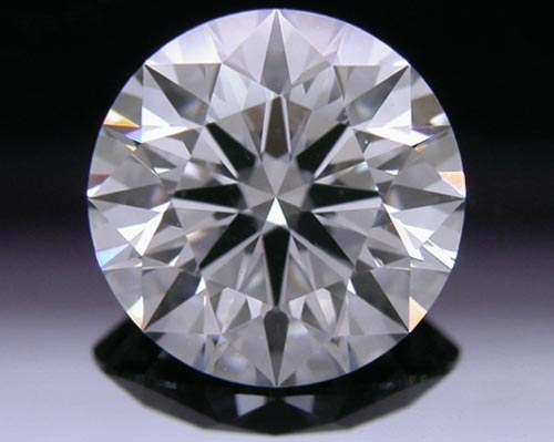 1.27 ct F SI1 A CUT ABOVE® Hearts and Arrows Super Ideal Round Cut Loose Diamond