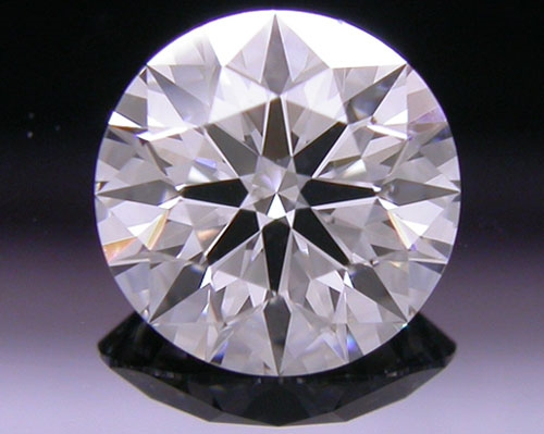 0.76 ct D SI1 A CUT ABOVE® Hearts and Arrows Super Ideal Round Cut Loose Diamond