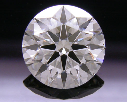 1.584 ct K VS1 A CUT ABOVE® Hearts and Arrows Super Ideal Round Cut Loose Diamond