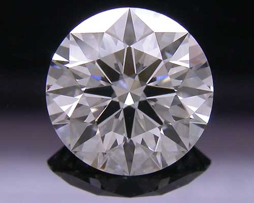 1.106 ct G VS2 A CUT ABOVE® Hearts and Arrows Super Ideal Round Cut Loose Diamond