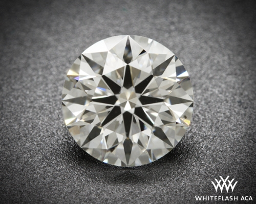 1.121 ct H SI2 A CUT ABOVE® Hearts and Arrows Super Ideal Round Cut Loose Diamond