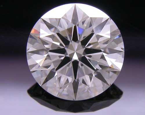 0.782 ct I VVS2 A CUT ABOVE® Hearts and Arrows Super Ideal Round Cut Loose Diamond