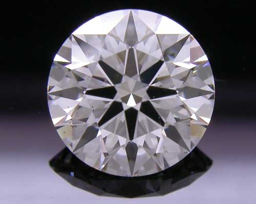 1.212 ct F SI1 A CUT ABOVE® Hearts and Arrows Super Ideal Round Cut Loose Diamond