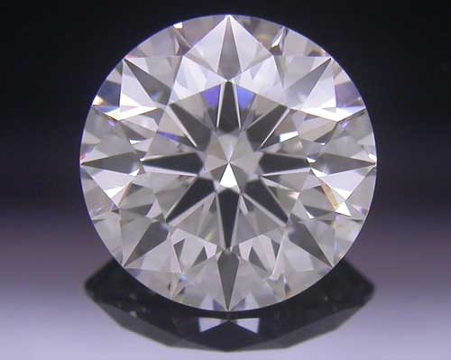 0.734 ct H VS2 A CUT ABOVE® Hearts and Arrows Super Ideal Round Cut Loose Diamond
