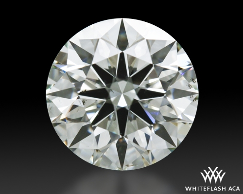 1.301 ct K SI1 A CUT ABOVE® Hearts and Arrows Super Ideal Round Cut Loose Diamond