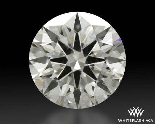 1.083 ct H SI2 A CUT ABOVE® Hearts and Arrows Super Ideal Round Cut Loose Diamond