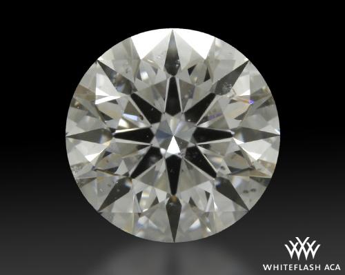 0.715 ct E SI2 A CUT ABOVE® Hearts and Arrows Super Ideal Round Cut Loose Diamond
