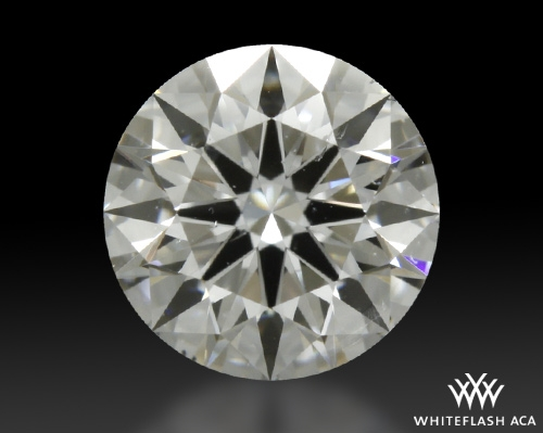 0.703 ct D SI2 A CUT ABOVE® Hearts and Arrows Super Ideal Round Cut Loose Diamond