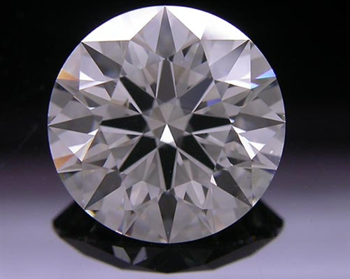 2.076 ct J VS2 A CUT ABOVE® Hearts and Arrows Super Ideal Round Cut Loose Diamond