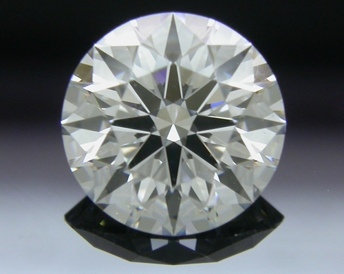 0.787 ct F VS1 A CUT ABOVE® Hearts and Arrows Super Ideal Round Cut Loose Diamond