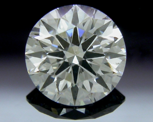 0.544 ct G SI1 A CUT ABOVE® Hearts and Arrows Super Ideal Round Cut Loose Diamond