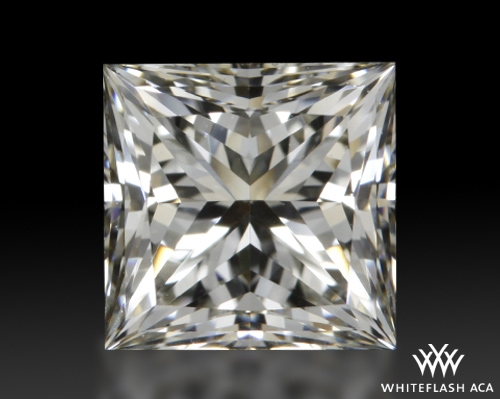 0.74 ct J VS1 A CUT ABOVE® Princess Super Ideal Cut Diamond