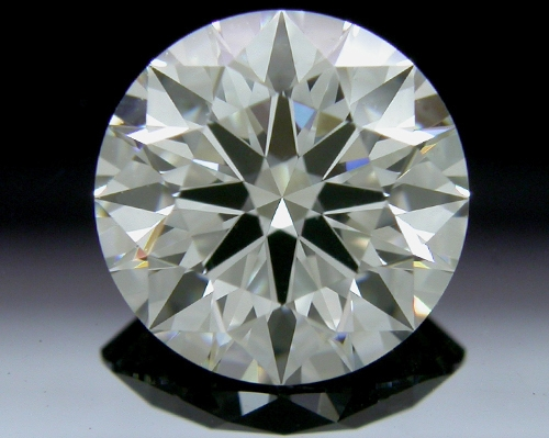 1.623 ct I SI1 A CUT ABOVE® Hearts and Arrows Super Ideal Round Cut Loose Diamond