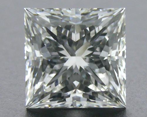 0.74 ct H VS2 A CUT ABOVE® Princess Super Ideal Cut Diamond