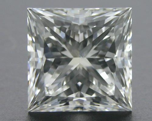 1.24 ct H SI1 A CUT ABOVE® Princess Super Ideal Cut Diamond