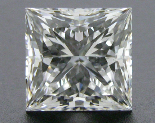 1.035 ct F SI1 A CUT ABOVE® Princess Super Ideal Cut Diamond