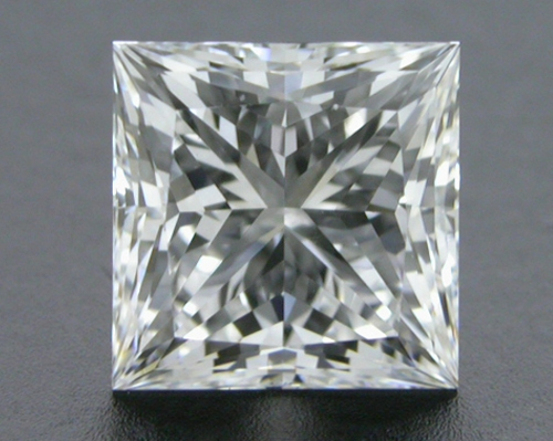0.711 ct F VVS2 A CUT ABOVE® Princess Super Ideal Cut Diamond