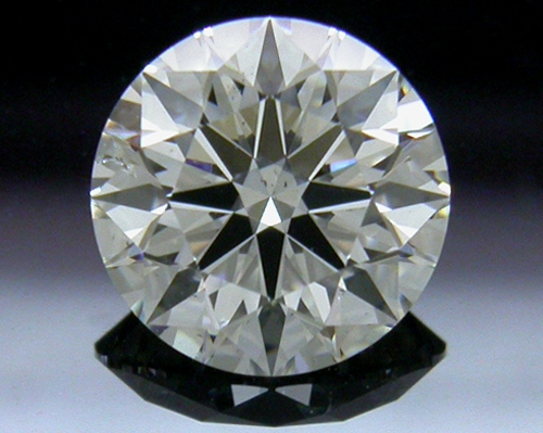 0.856 ct G SI1 A CUT ABOVE® Hearts and Arrows Super Ideal Round Cut Loose Diamond