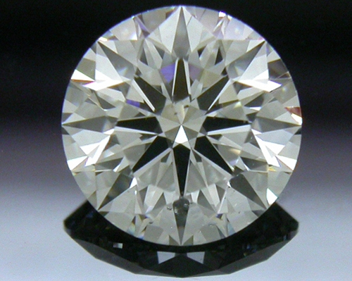 0.807 ct H SI1 A CUT ABOVE® Hearts and Arrows Super Ideal Round Cut Loose Diamond