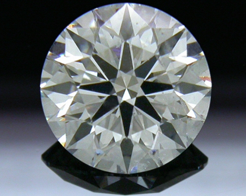 0.746 ct I SI1 A CUT ABOVE® Hearts and Arrows Super Ideal Round Cut Loose Diamond