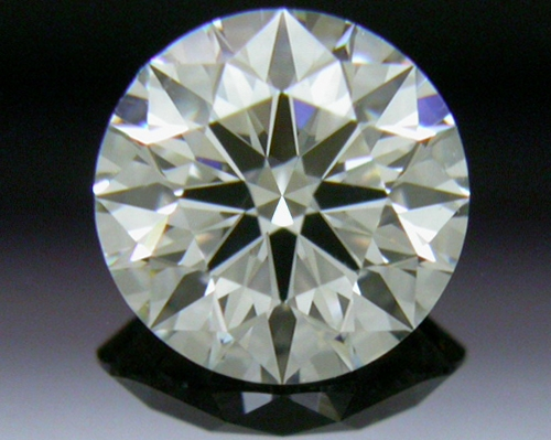 0.614 ct J VS2 A CUT ABOVE® Hearts and Arrows Super Ideal Round Cut Loose Diamond
