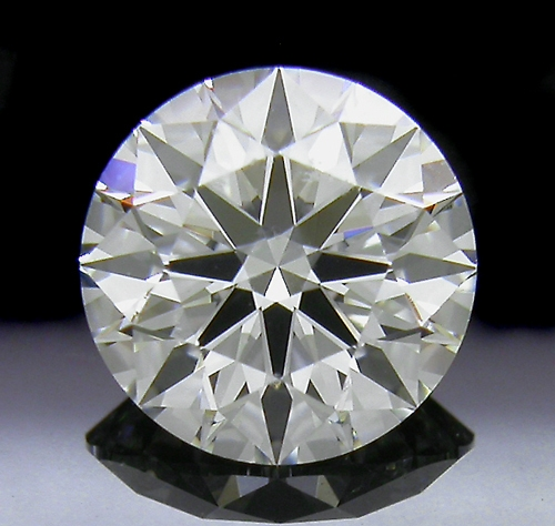 1.231 ct H VS1 A CUT ABOVE® Hearts and Arrows Super Ideal Round Cut Loose Diamond