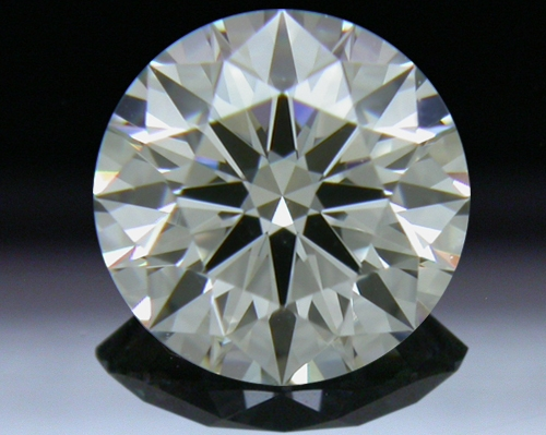 0.76 ct J VS2 A CUT ABOVE® Hearts and Arrows Super Ideal Round Cut Loose Diamond