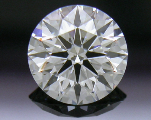 0.593 ct G SI1 A CUT ABOVE® Hearts and Arrows Super Ideal Round Cut Loose Diamond
