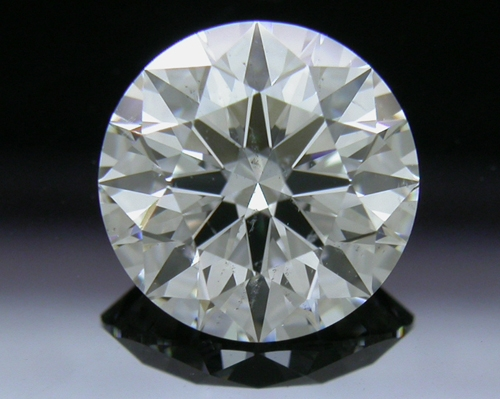 1.52 ct F SI2 A CUT ABOVE® Hearts and Arrows Super Ideal Round Cut Loose Diamond