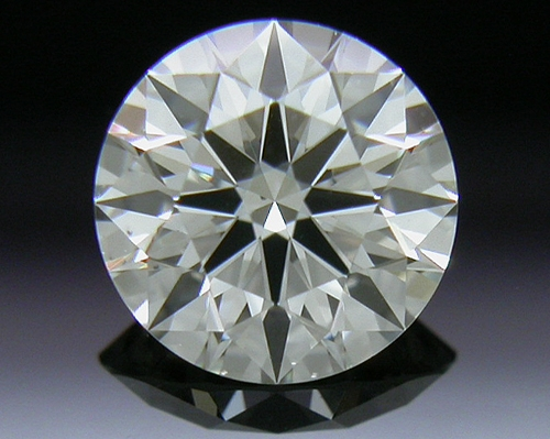 0.457 ct J VS2 A CUT ABOVE® Hearts and Arrows Super Ideal Round Cut Loose Diamond