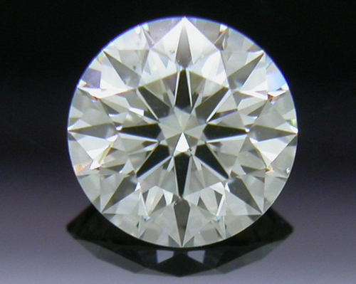 0.302 ct J SI1 A CUT ABOVE® Hearts and Arrows Super Ideal Round Cut Loose Diamond